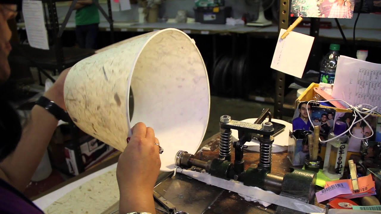 Manufacturing quality lamp shades in the usa youtube manufacturing quality lamp shades in the usa aloadofball Gallery