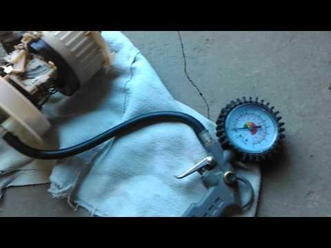 Проверка обратного клапана бензонасоса
