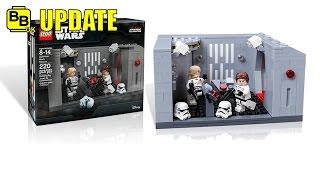 LEGO STAR WARS DETENTION BLOCK RESCUE SET IMAGES NEWS UPDATE