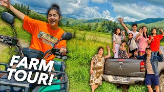 Welcome To OUR FARM In Zambales!! (Farm Tour) | Ranz and Niana