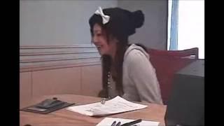 「明日までもういっちょ!」第5回 成田梨紗(2007年10月29日) *紹介テ...