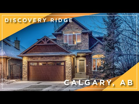 Calgary Real Estate Property Video Tour Production - 30 Discovery Ridge View SW