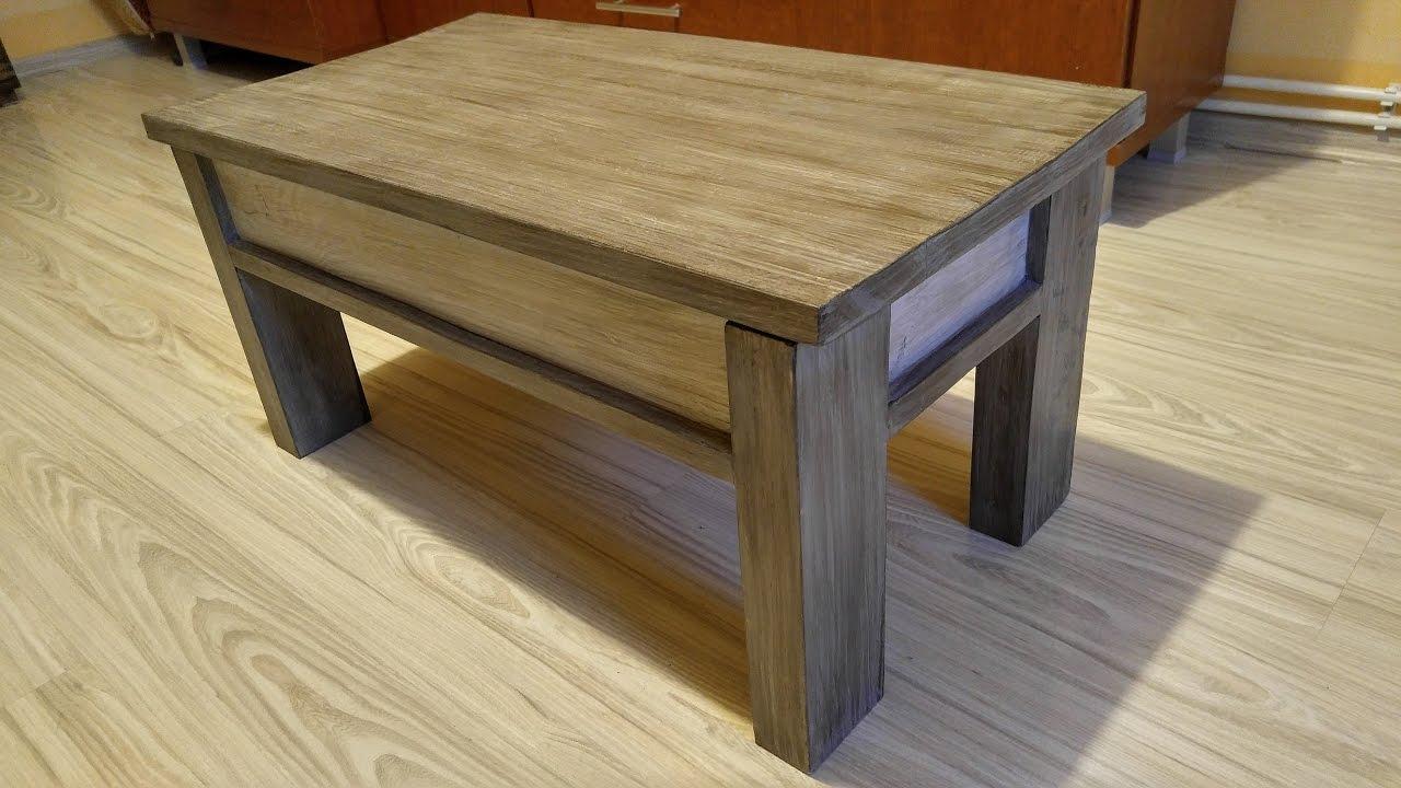 Jak Zrobic Otwierany Maly Stolik Z Palet How To Make A Small Pallet Table
