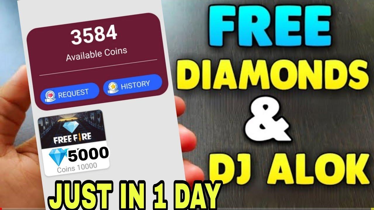 IN ONLY 1 DAY FREE DJ ALOK & UNLIMITED DIAMOND 💎KASA REDEEM KARA🤔|| SECRET TRICK 🔥