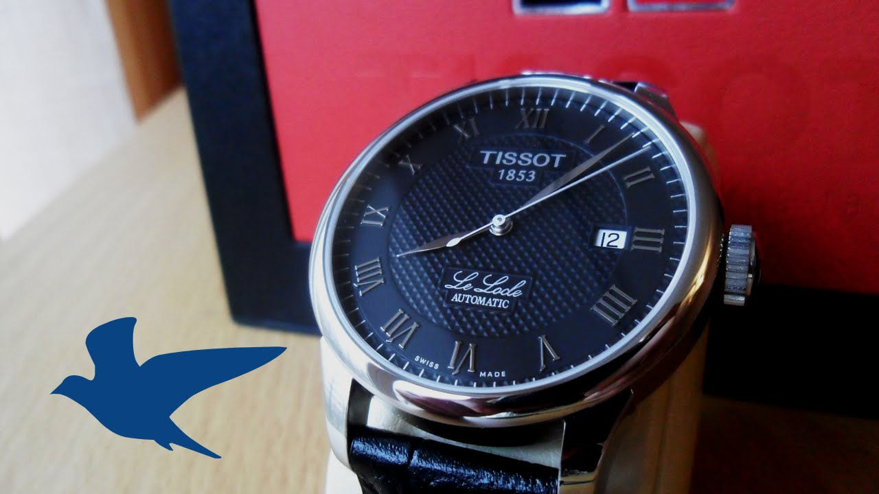 Review Tissot Le Locle Ref T41 1 423 53 Youtube