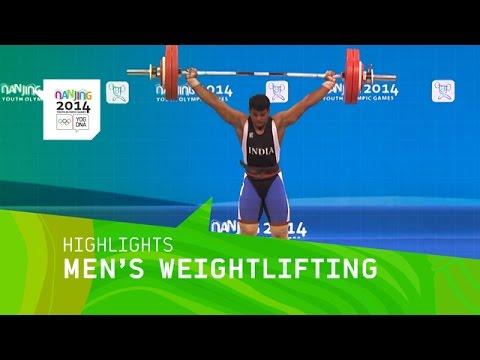 Hakob Mkrtchyan Wins Men\'s Weightlifting 77Kg Gold - Highlights | Nanjing 2014 Youth Olympic Games