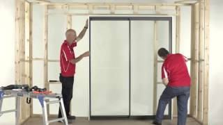 How to Install an A&L Sliding Door (2 Panel)