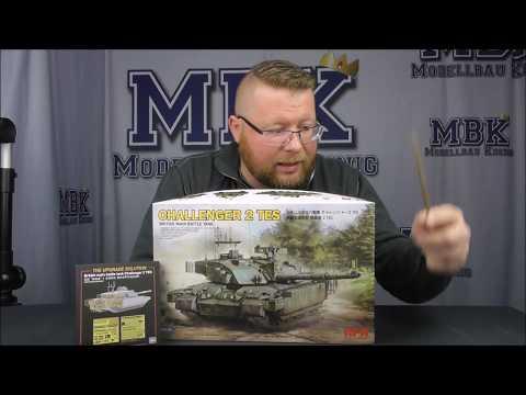 MBK Packt Aus #287 - 1:35 Challenger 2 TES (+upgrade Solution) (Rye Field Model 5039 (+2001)