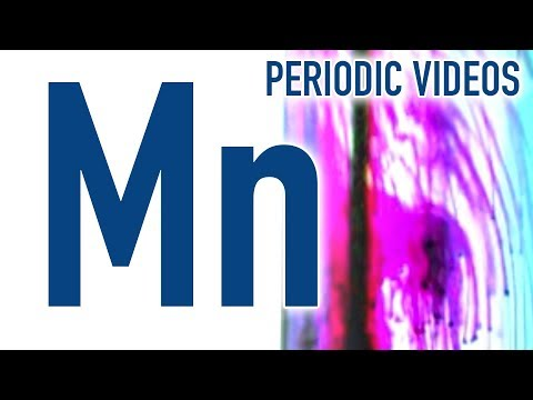 Manganese - Periodic Table of Videos