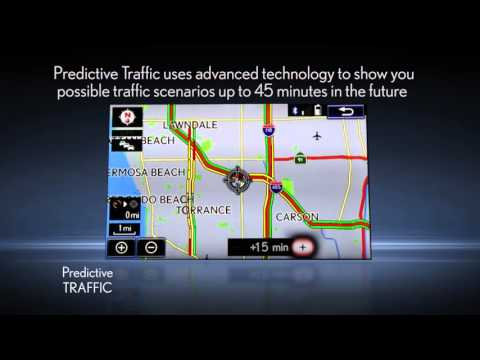 Navigation: Predictive Traffic and Rerouting