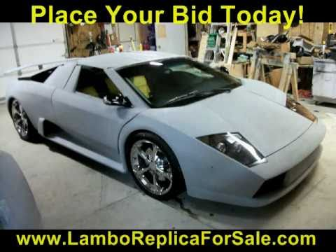 Lamborghini Murcielago Replica Kit Car For Sale. Lambo LP640 Reventon  TurnKey   YouTube