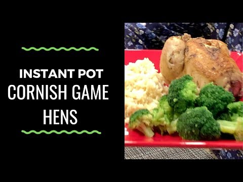 How To Make Cornish Game Hens In The Instant Pot
