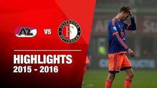 Samenvatting AZ - Feyenoord 2015-2016