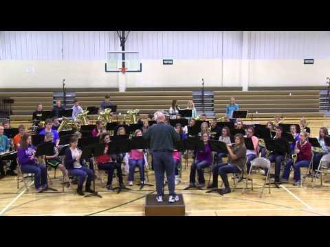Latin Folk  Trilogy. CCHS and Trinty Band at Trinty High School