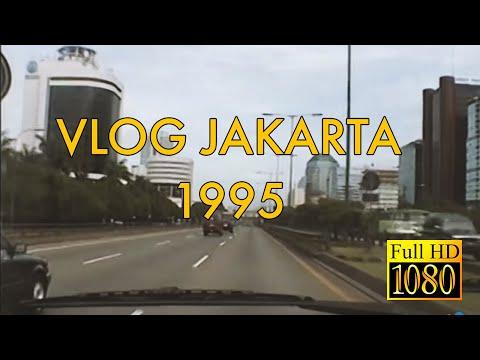 JAKARTA 1995 : Tol Jakarta Wow Lancar Sekali!!!