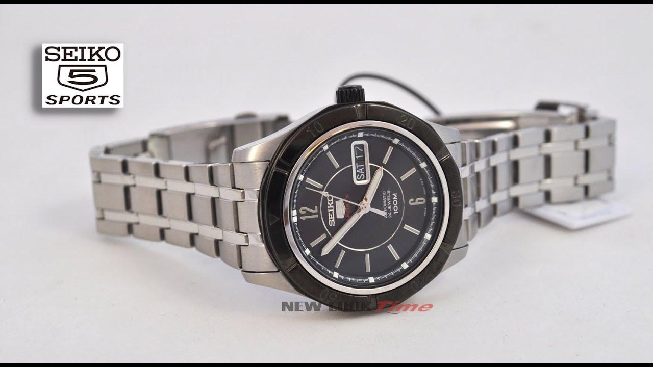 e103c634831 Relógio SEIKO 5 automático 4R36AM 1 - YouTube