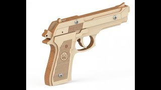 Пистолет-резинкострел Беретта от Древо Игр