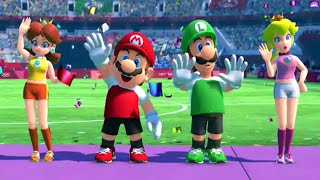 Mario & Sonic at the Olympic Games Tokyo 2020 - Football (All Characters)