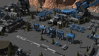 Droppin Bombs - Planetary Annihilation Gameplay