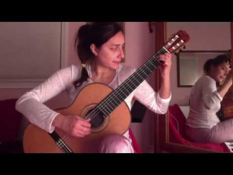 Zaira Meneses Pjs 2 Practicing before bedtime 2015.