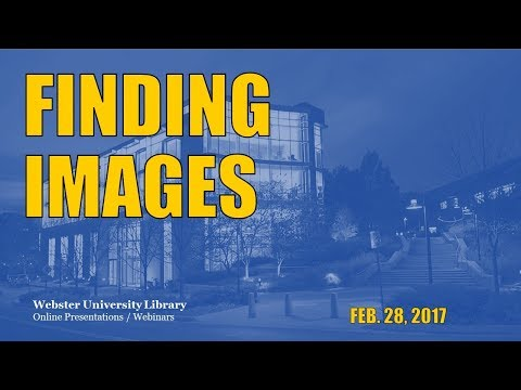 Beyond Google Images: Finding and Using Pictures Appropriately in Your Work