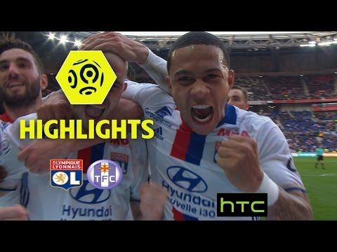 Olympique Lyonnais - Toulouse FC (4-0) - Highlights - (OL - TFC) / 2016-17