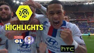 Video Gol Pertandingan Olympique Lyonnais vs Strasbourg