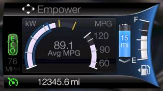 Fusion Energi - EV+ Mode and ECO Cruise
