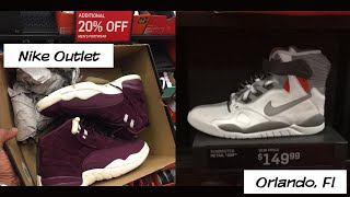 Nike Outlet Vlog Orlando, FL | 4 Nike Outlets in one day with my son
