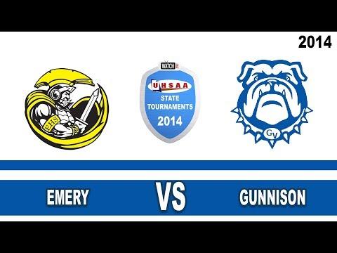 2A Baseball: Emery vs Gunnison High School UHSAA 2014 State Tournament Single Loss Round 3