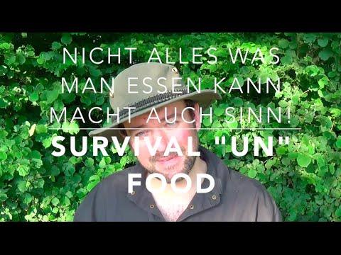 """Survival-""""Un""""-Food = """"Nutzlose""""-Notnahrung (Wald-Vlog)"""