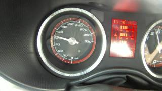 Alfa Romeo 8C Competizione 272 km/h HIGH SPEED RUN