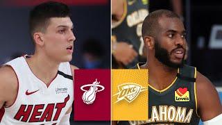 Miami Heat vs. Oklahoma City Thunder [FULL HIGHLIGHTS] | 2019-20 NBA Highlights