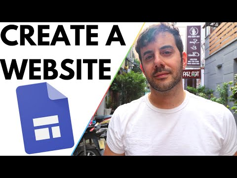 GOOGLE SITES Tutorial - Create a Free Personal Website