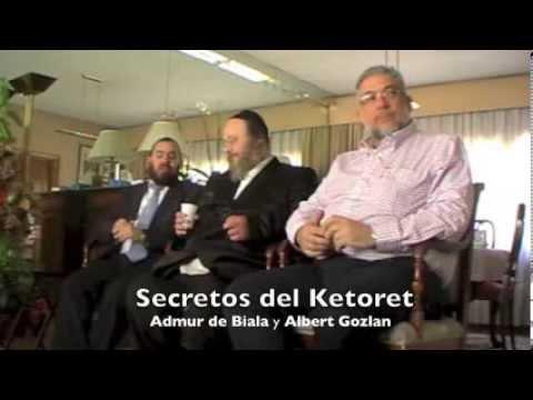 Secretos del Ketoret con el Admur de Biala