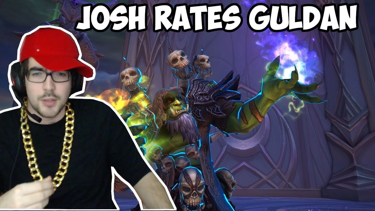 METHODJOSH RATES EXORSUS MYTHIC GUL'DAN KILL VIDEO!