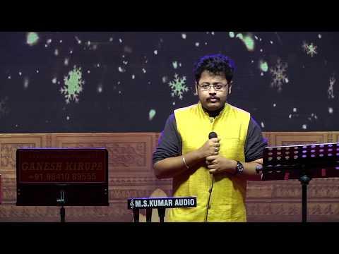 ISAI THAMIZH NEE by SAICAHARAN in GANESH KIRUPA Best Light Music Orchestra in Chennai
