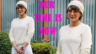 Sonali Bendre's Sweet Massage On Her T- Shirt Outside Facebook Office In Mumbai