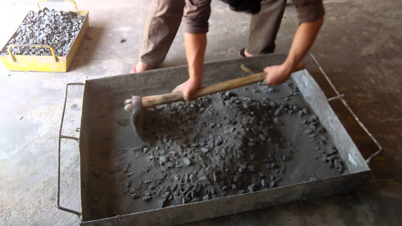 Fiber Cement Mix : Basalt fiber mixing in concrete manual youtube