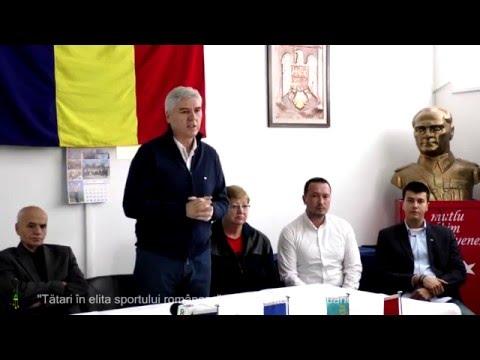 """""""Tătari în elita sportului românesc"""" , Constanta, 24 ianuarie 2016 [UDTTMR]"""