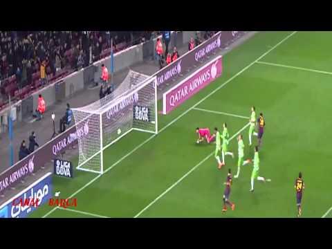 FC Barcelona - Copa del Rey 2014 todos los goles HD