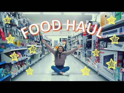 UNIVERSITY FOOD HAUL // VLOG