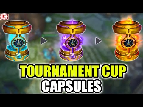 NEW TOURNAMENT CUP CAPSULES AND TOURNAMENT MODE - League of Legends