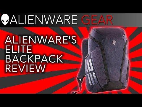 "Alienware's 15/17"" Elite Laptop Backpack Review w/ Ernie"
