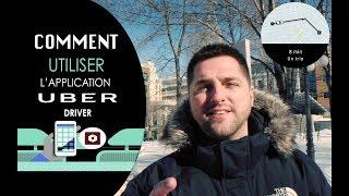 Comment utiliser l'application Uber driver