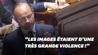 """Edouard Philippe dénonce des images """"d"""