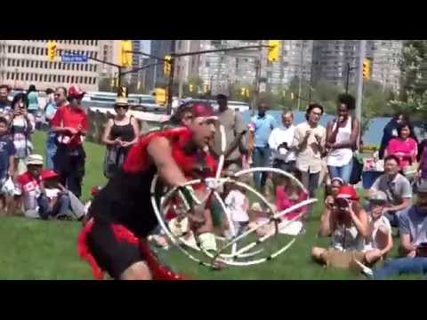 Indigenous Canadian Hoop Dance, Canada Day Celebration 2015 thumbnail