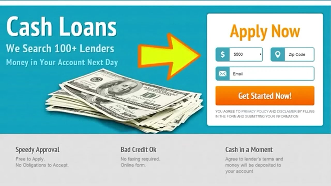 Payday Loans Online (Bad Credit = No Problem!) - YouTube