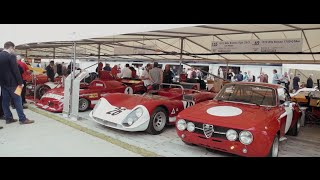 alfa romeo are powered by passion at goodwood fos