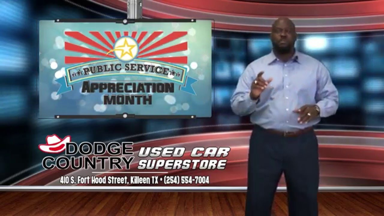 Dodge Country Killeen >> Public Service Appreciation Sale Dodge Country Used Cars